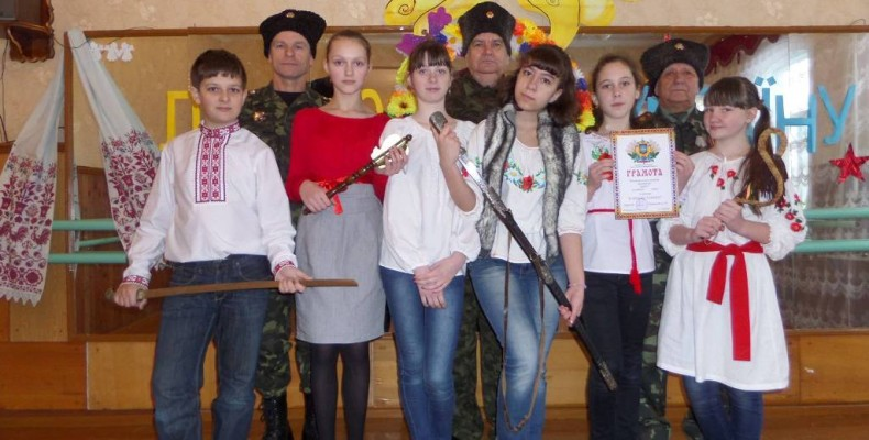 Козаки та козачата: МИ ЛЮБИМО УКРАЇНУ! Фоторепортаж