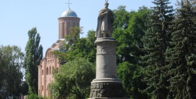 Пам`ятник Богдану Хмельницькому скульптора Кавалерідзе — у Чернігові