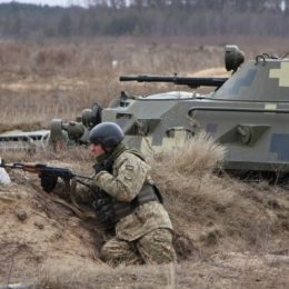 Президентський полк удосконалював бойову майстерність